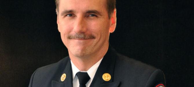 Fire Chief Speaks to Grace Street Men