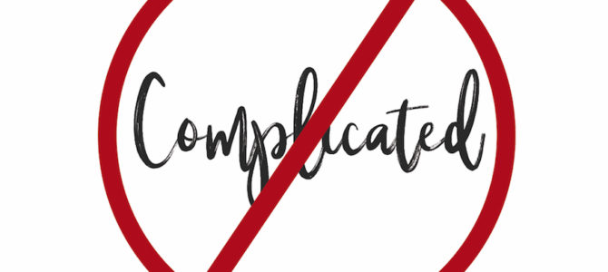 Series – It's NOT Complicated
